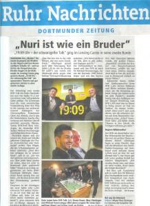 Ruhrnachrichten vom 21.01.13