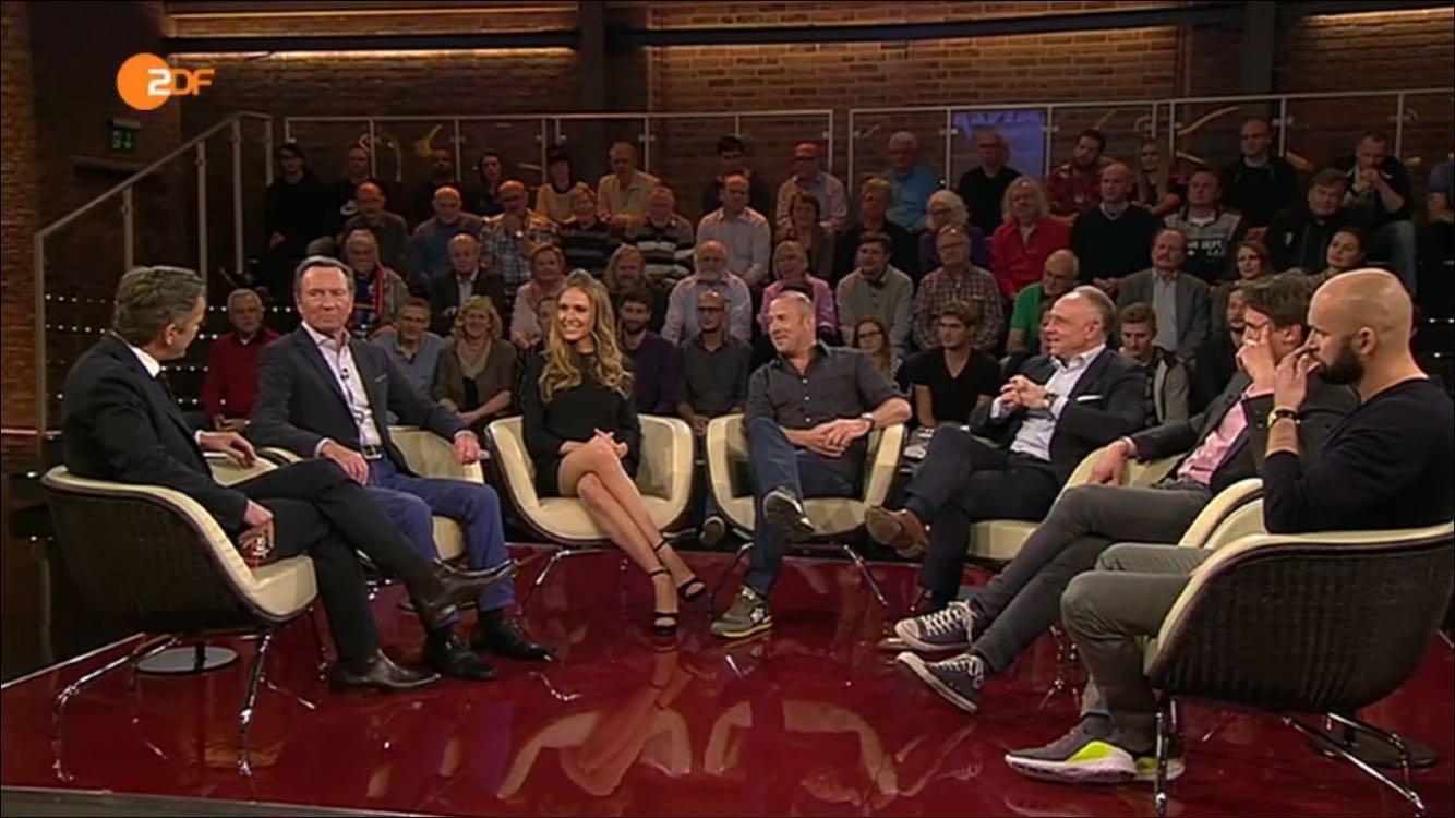 Michael Rummenigge zu Gast bei Markus Lanz im ZDF