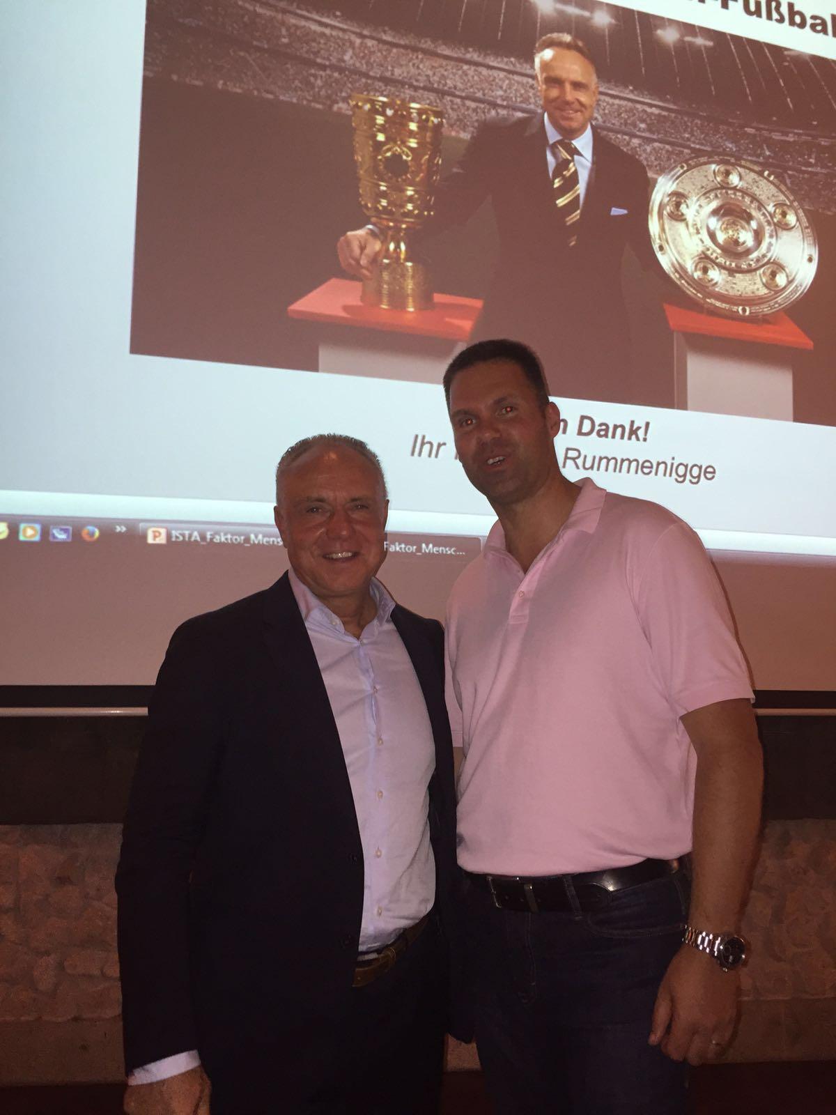 Michael Rummenigge zu Gast bei ISTA