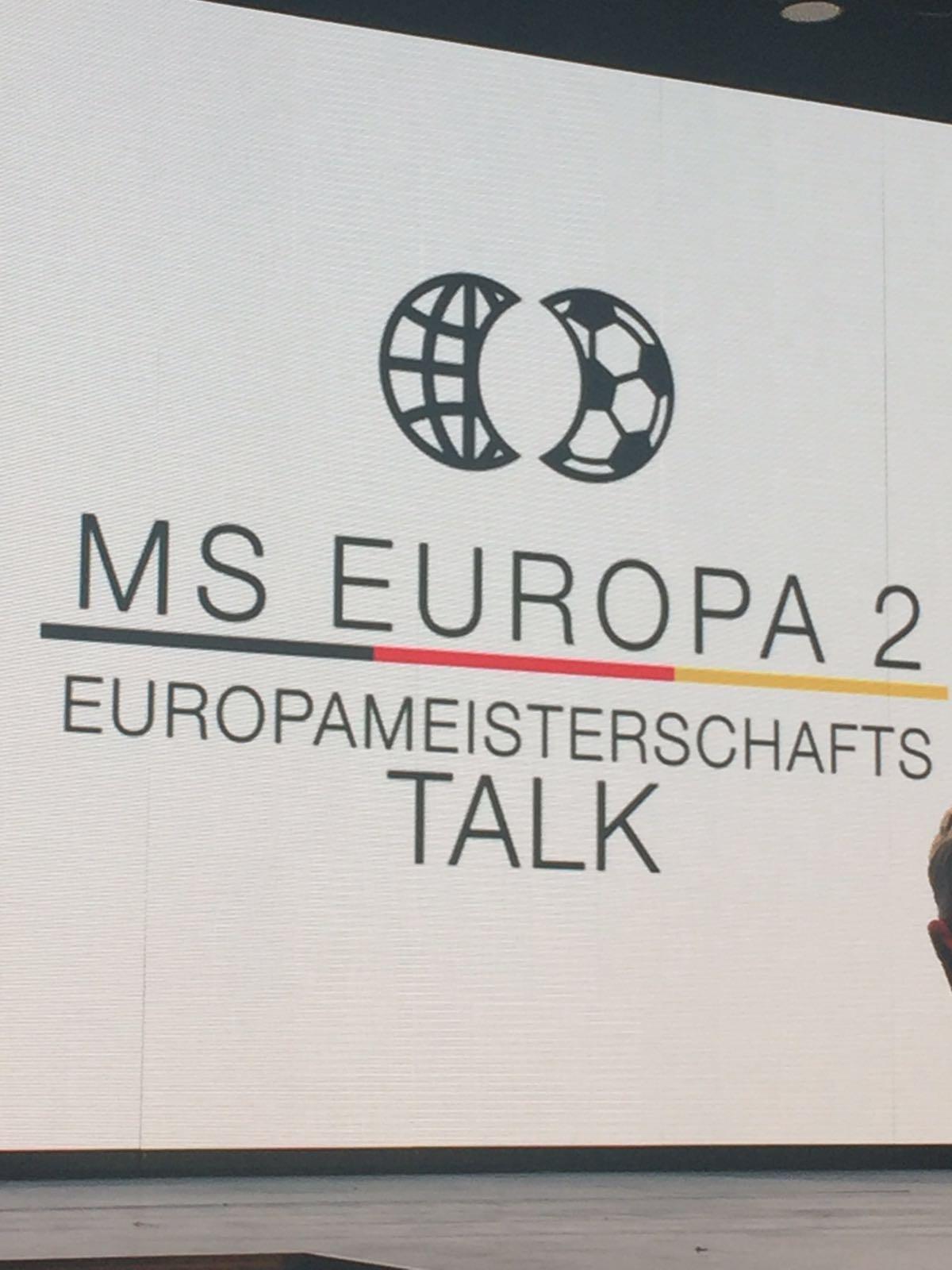 Der EM Talk auf der MS Europa 2