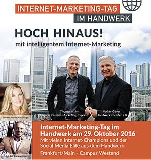 """Der Faktor Mensch zu Gast beim """"Internet-Marketing-Tag im Handwerk"""""""