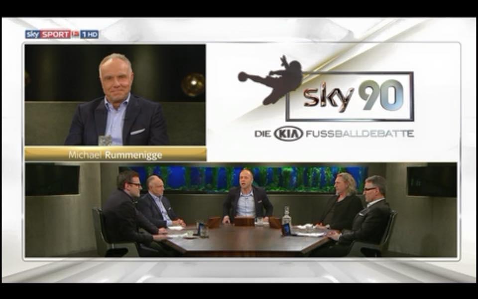 Michael Rummenigge zu Gast bei Sky90 – die KIA Fußballdebatte