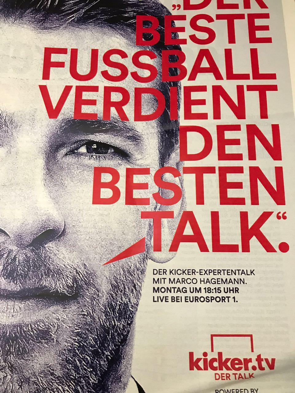 KickerTV – Der Talk vom 08.05. bei Eurosport