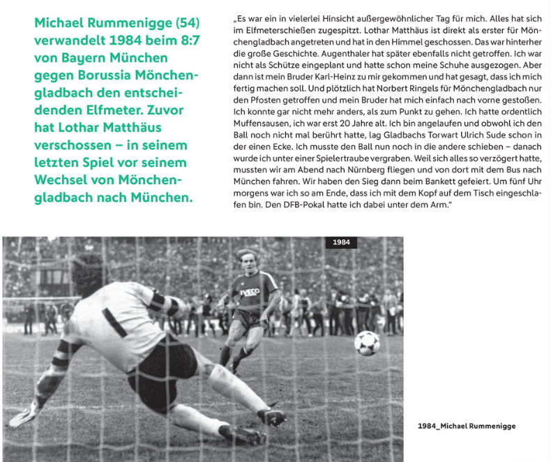 Michael Rummenigge im Magazin zum DFB Pokal Endspiel 2018