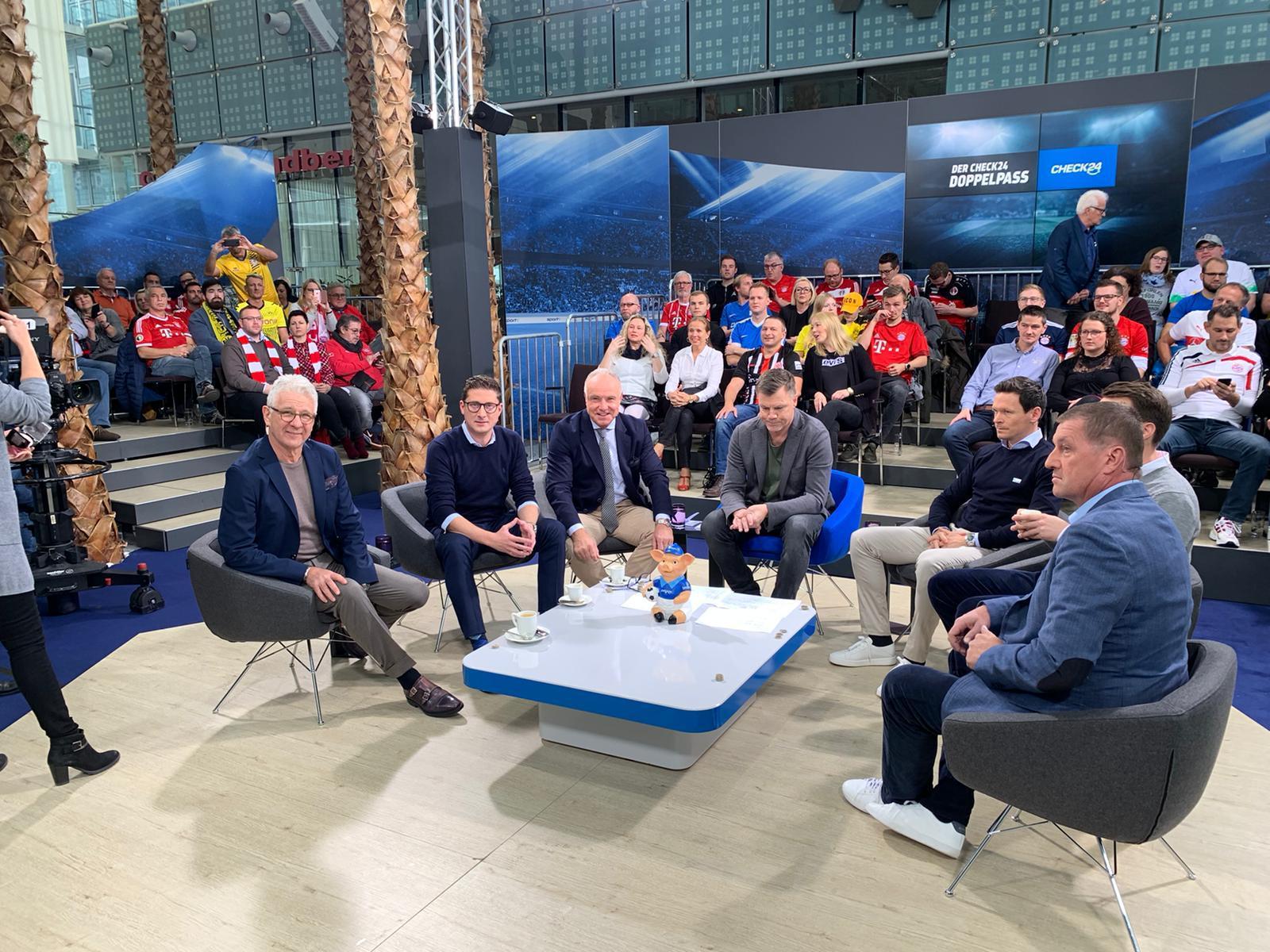 Michael Rummenigge zu Gast im Doppelpass am 10.11.2019