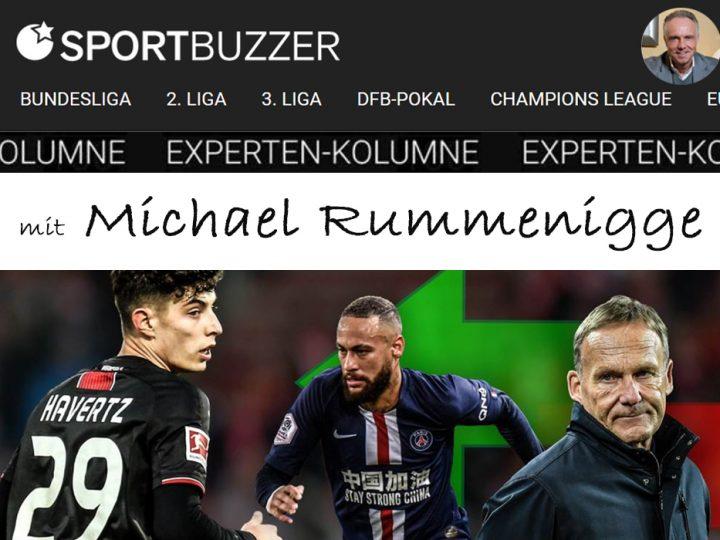 Die Sportbuzzer-Kolumne mit Michael Rummenigge vom 21.03.2020