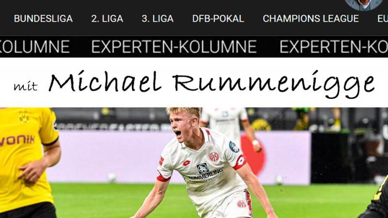 Die Sportbuzzer-Kolumne mit Michael Rummenigge vom 20.06.2020