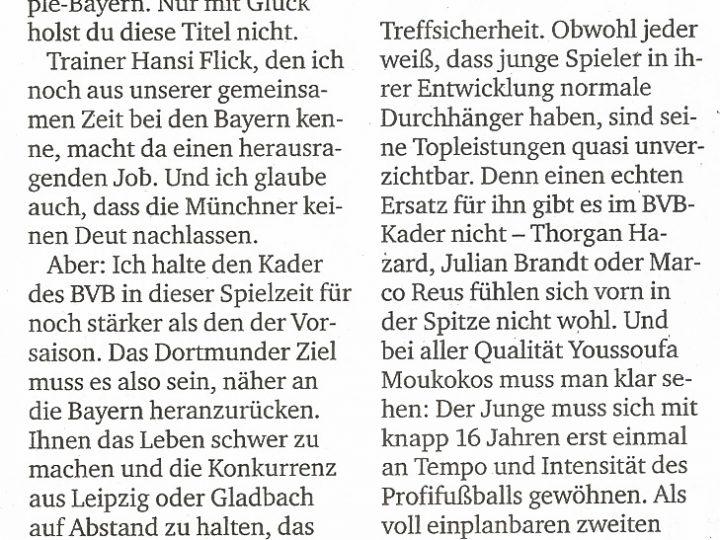 Artikel in der RuhrNachrichten vom 01.09.2020