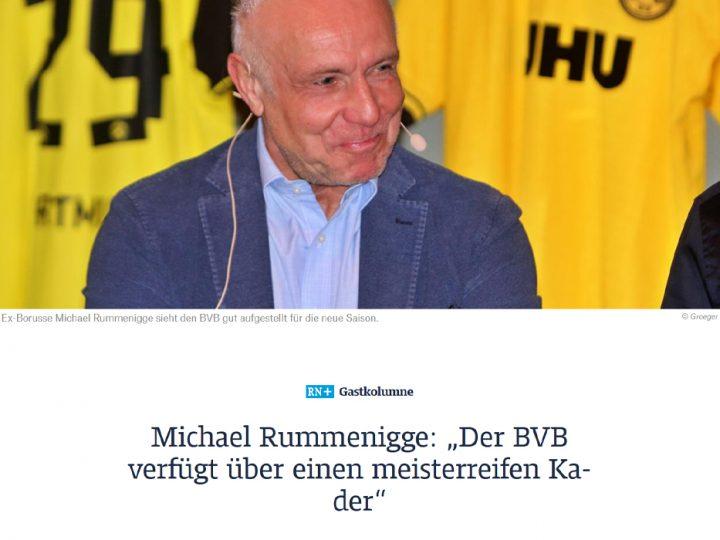 Kolumne in der RuhrNachrichten vom 01.09.2020