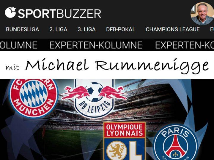 Die Sportbuzzer-Kolumne mit Michael Rummenigge vom 18.08.2020