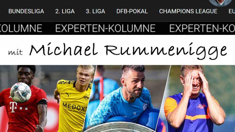 Die Sportbuzzer-Kolumne mit Michael Rummenigge vom 19.09.2020
