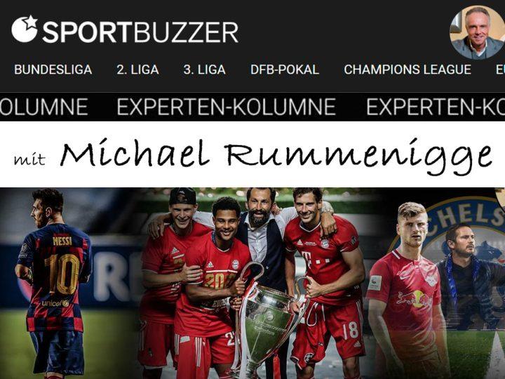 Die Sportbuzzer-Kolumne mit Michael Rummenigge vom 29.08.2020