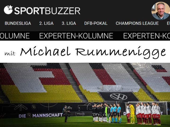 Die Sportbuzzer-Kolumne mit Michael Rummenigge vom 13.11.2020