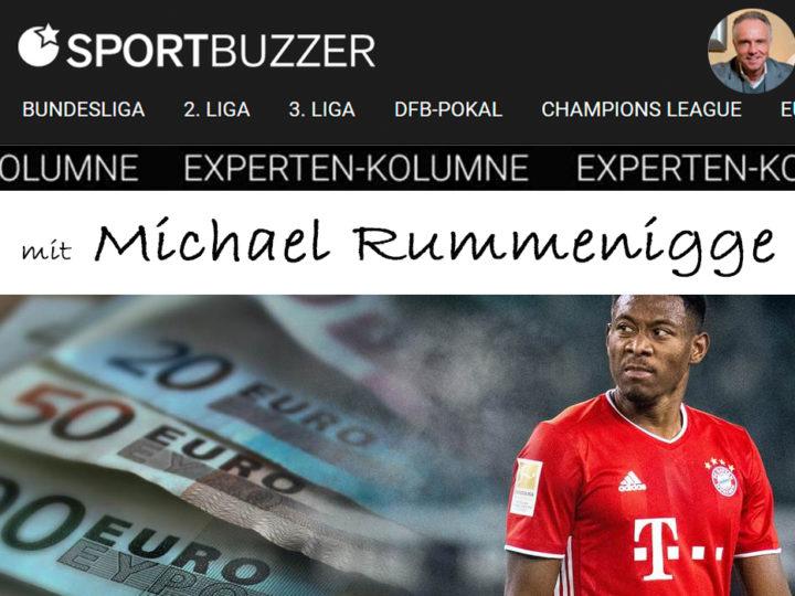 Die Sportbuzzer-Kolumne mit Michael Rummenigge vom 14.02.2021