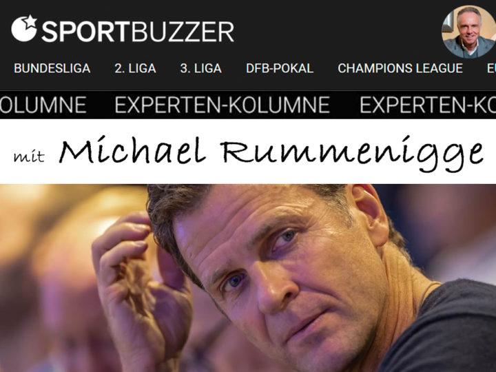 Die Sportbuzzer-Kolumne mit Michael Rummenigge vom 20.03.2021