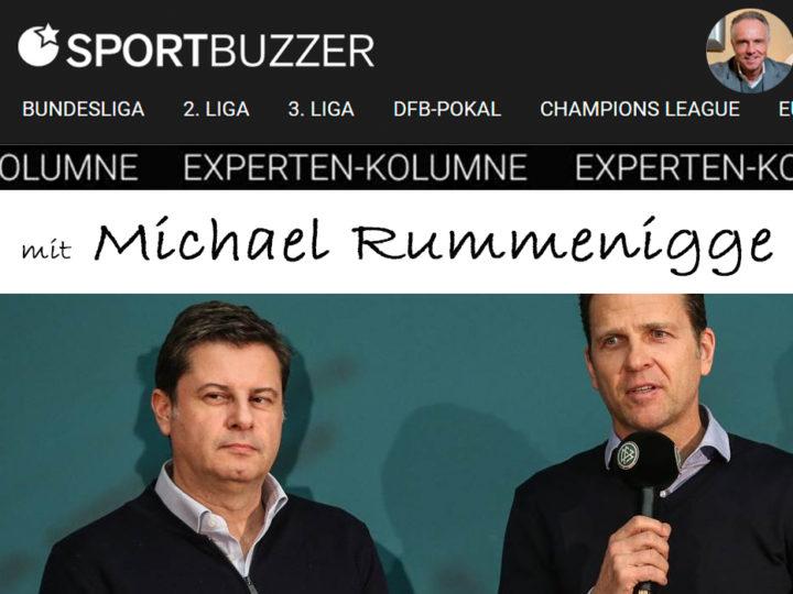 Die Sportbuzzer-Kolumne mit Michael Rummenigge vom 27.03.2021