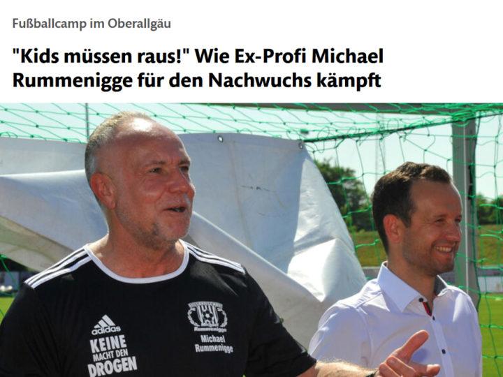 Interview in der Allgäuer Zeitung zum Saisonstart der Fussballschule
